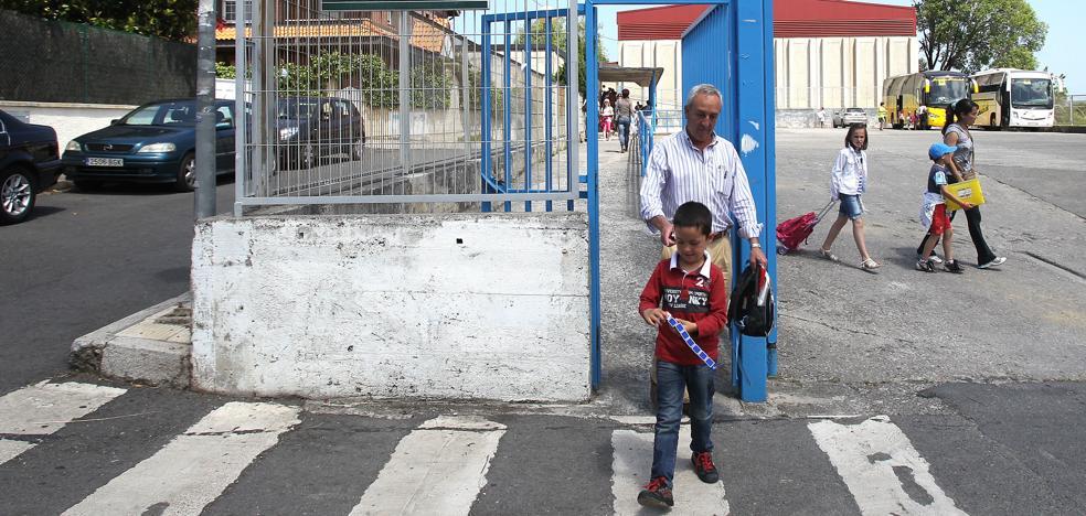 Getxo renueva el contrato para abrir a los vecinos los patios de tres colegios