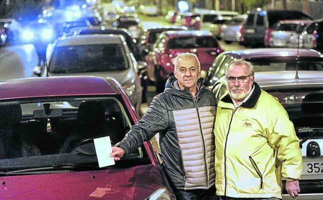 Sansomendi exige «quitar las 100 multas» puestas en una tarde por la Policía Local