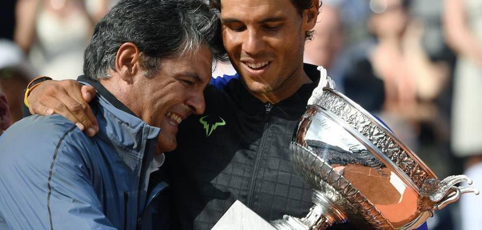 La carta de despedida de Toni Nadal a su sobrino Rafa Nadal