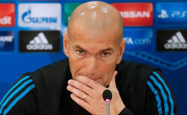 Zidane: «Algunos pueden estar preocupados; yo no, nunca»