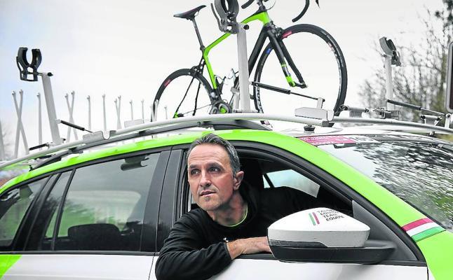 Jon Odriozola: «El sueño ahora es llegar con el equipo Euskadi a la meta en Bilbao del Tour»
