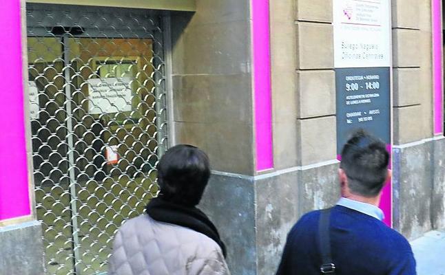 La Diputación aplaza la apertura de las oficinas de San Prudencio porque «la obra no está acabada»