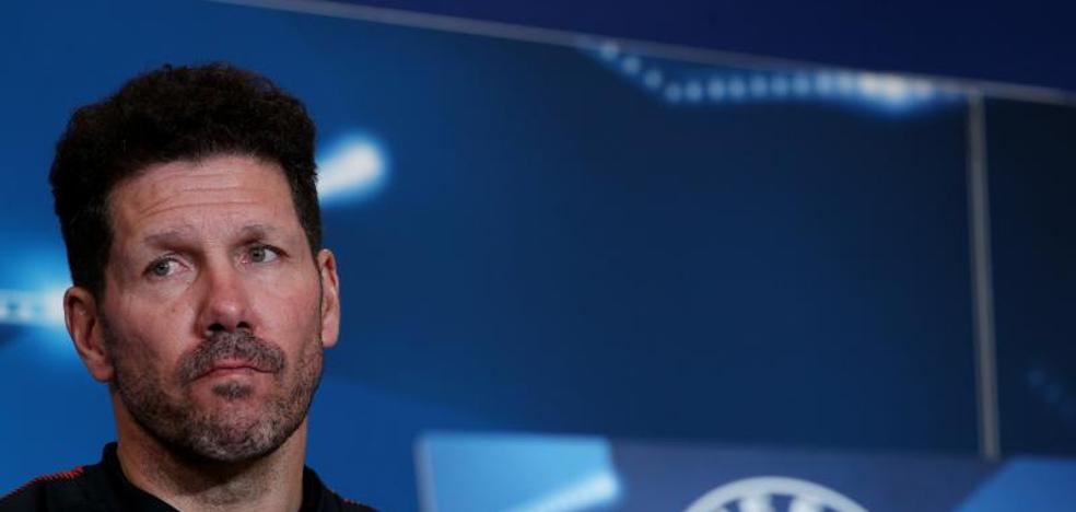 Simeone: «Griezmann está preocupado porque necesita el gol»