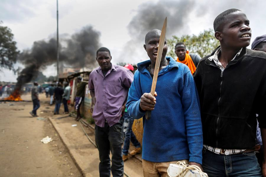 Graves disturbios en Nairobi