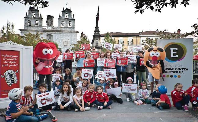 El Día del Euskera llega a Orduña con más de una semana de actividades