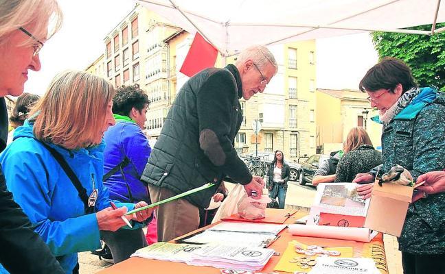 'Tranvía No' elevará la «contundencia» de sus protestas ante el inminente inicio de las obras