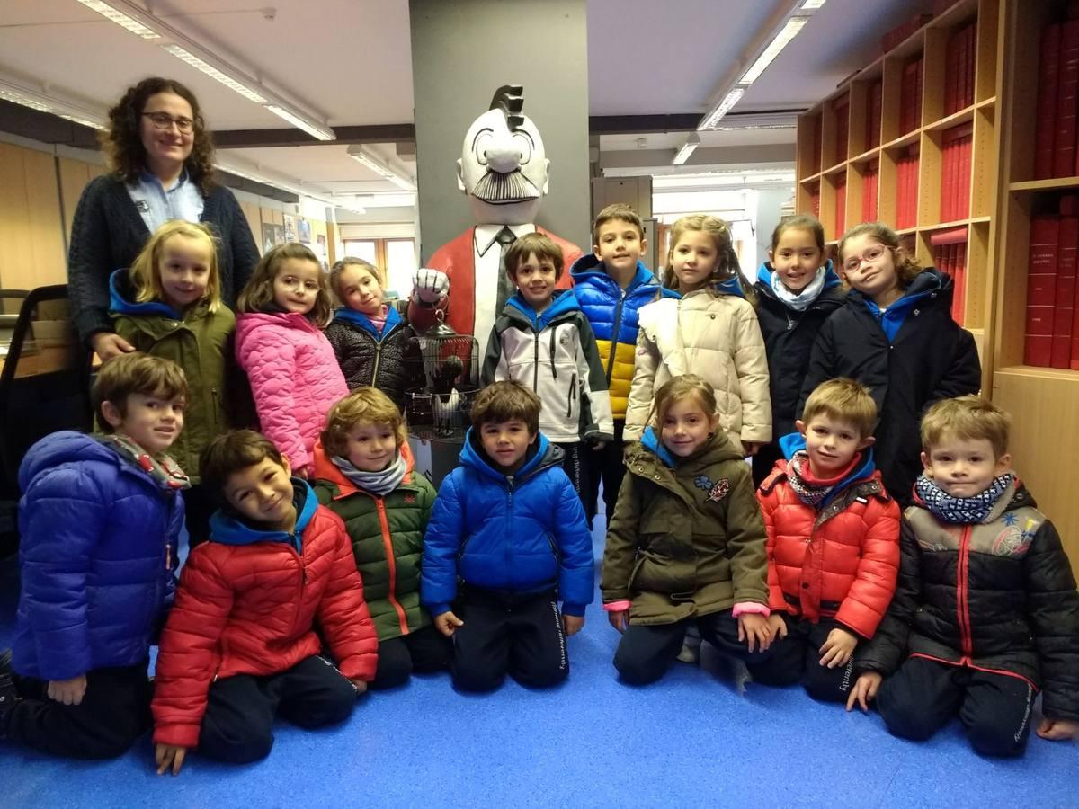 Visita centro escolar Nclic (Vitoria-Gasteiz) - 21 de noviembre de 2017