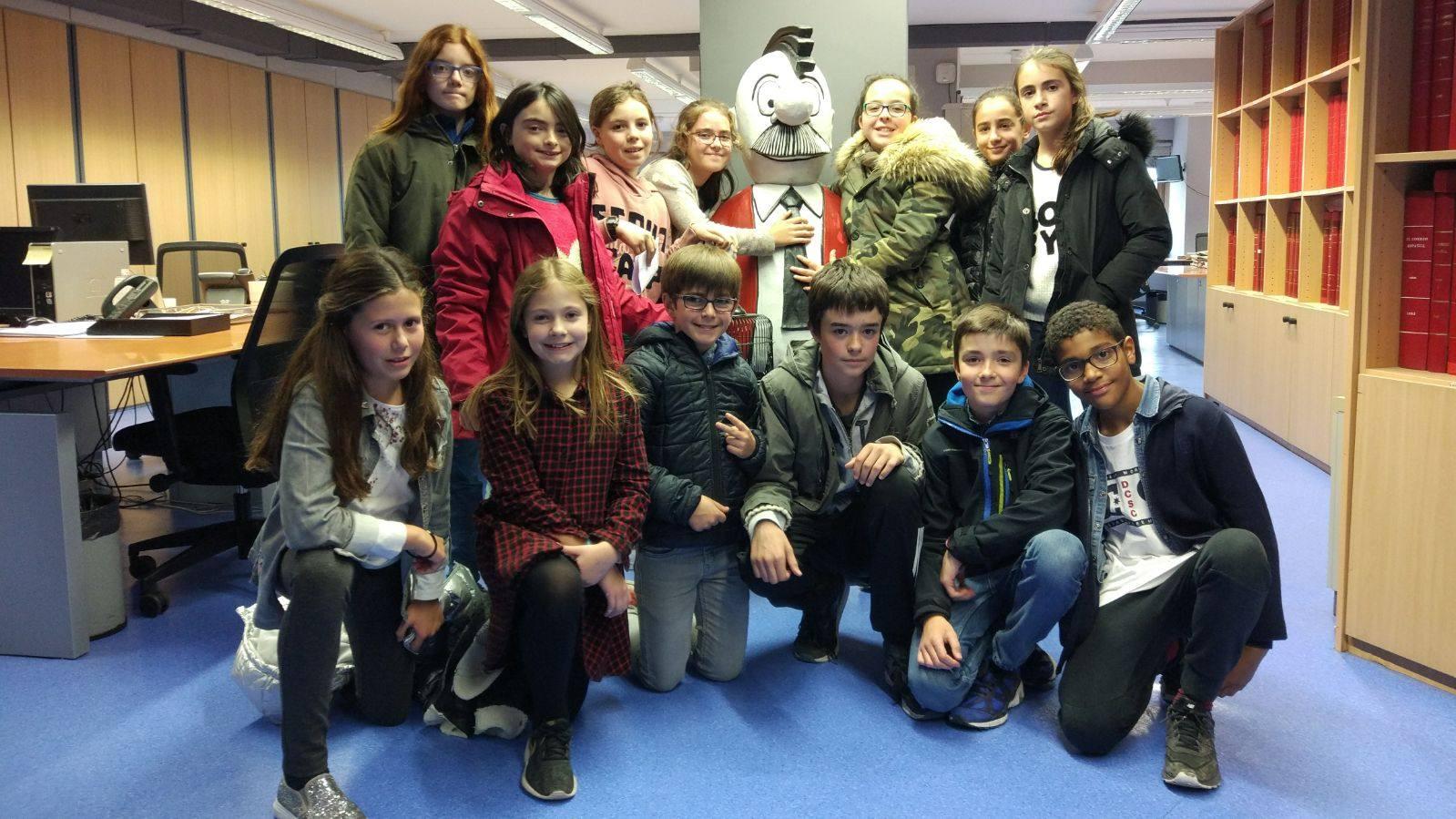 Visita centro escolar Urkide (Vitoria-Gasteiz) - 21 de noviembre de 2017