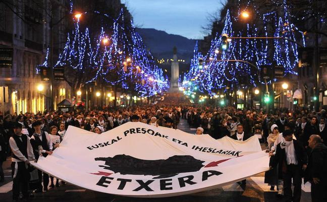 Esperan a 10.000 vascos en la marcha de París por los presos de ETA
