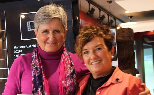Mintzanet premia el apoyo de Marisa Barrena para divulgar el euskera