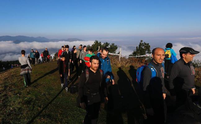 Cerca de 8.000 personas tomarán parte en una nueva edición de la Marcha al Pagasarri