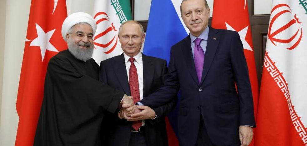 Putin manda en Oriente Próximo