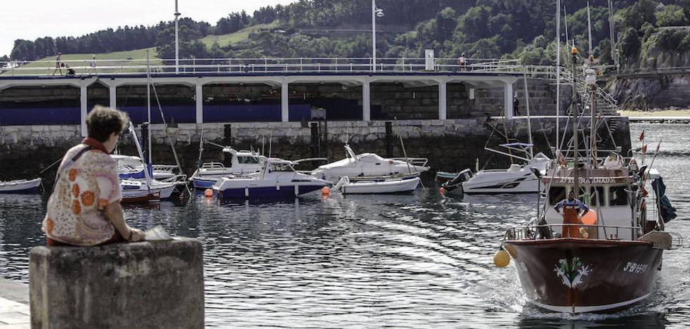 Puertos iniciará antes de final de año las obras de refuerzo del muelle del tinglado de Lekeitio
