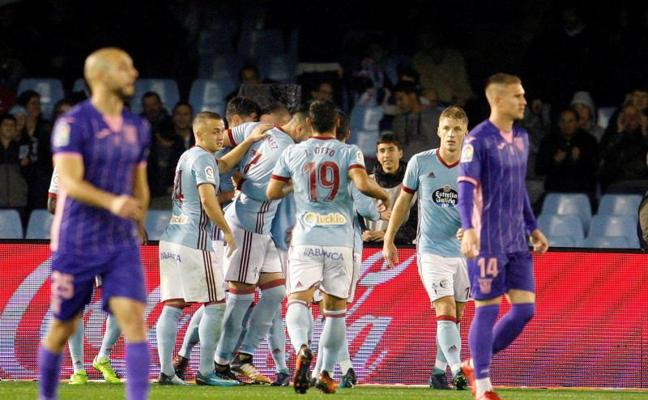 El Celta gana al Leganés aunque con sufrimiento en los últimos minutos