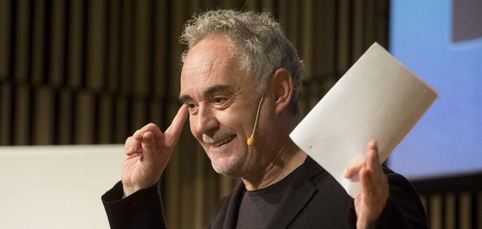 Ferran Adrià: «A Bilbao le han tocado los Juegos Olímpicos de la gastronomía»