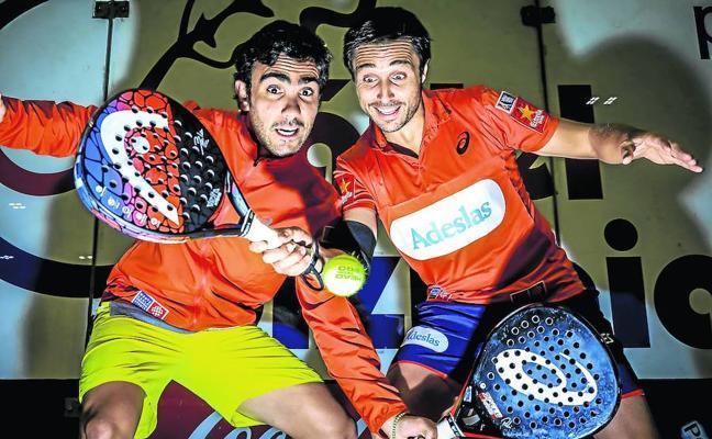 Los reyes del pádel, a conquistar Bilbao