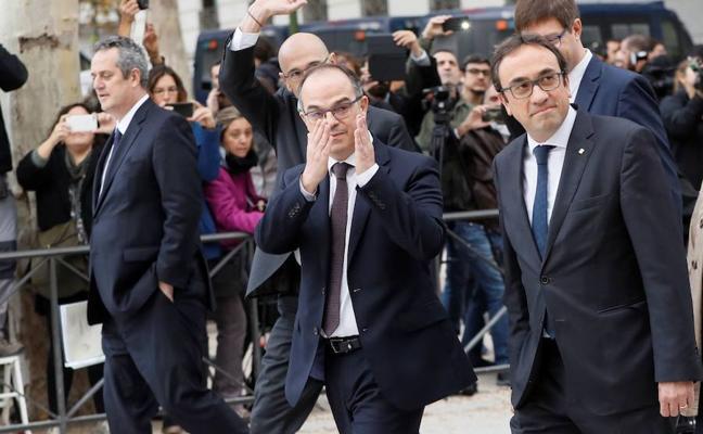El Supremo asume la investigación por rebelión de los exmiembros del Govern y los 'Jordis'