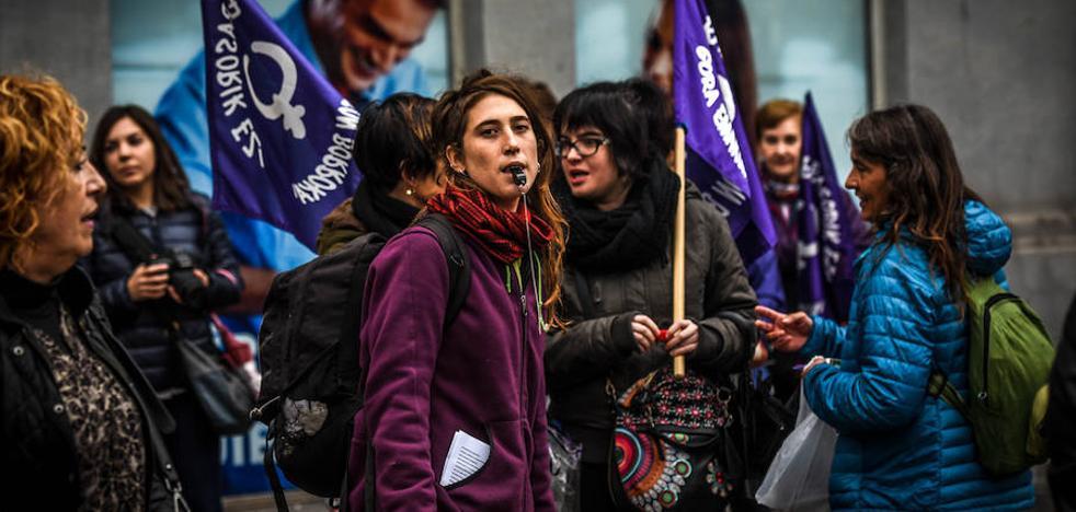 Bizkaia se moviliza contra las agresiones hacia las mujeres