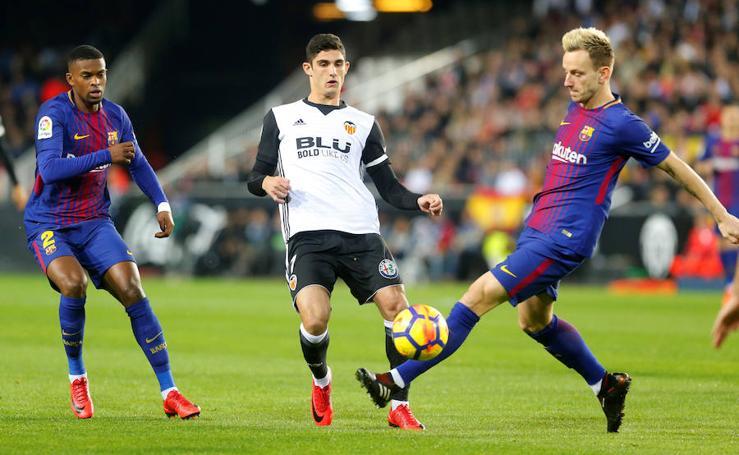 Las mejores imágenes del Valencia-Barcelona