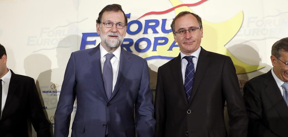 Rajoy le recuerda a Rivera que el Cupo vasco está reconocido en la Constitución