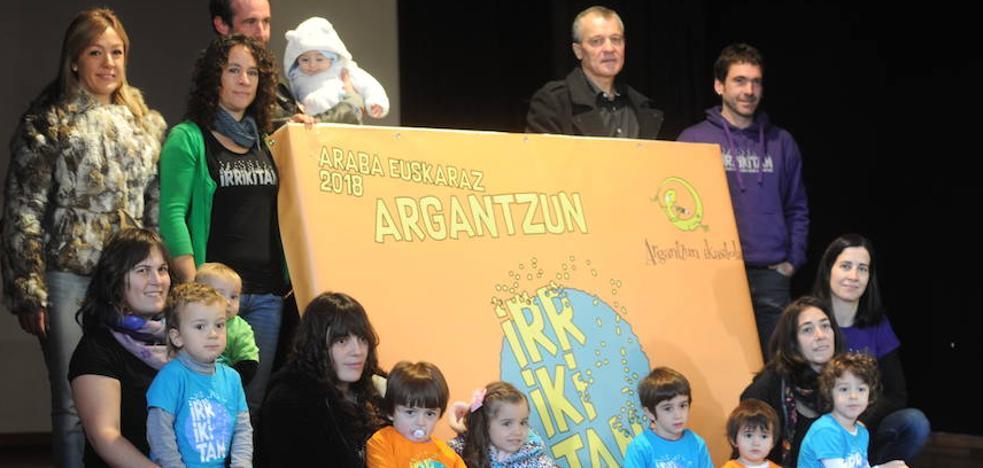 La Puebla de Arganzón celebrará el Araba Euskaraz bajo el lema 'Irrikitan'
