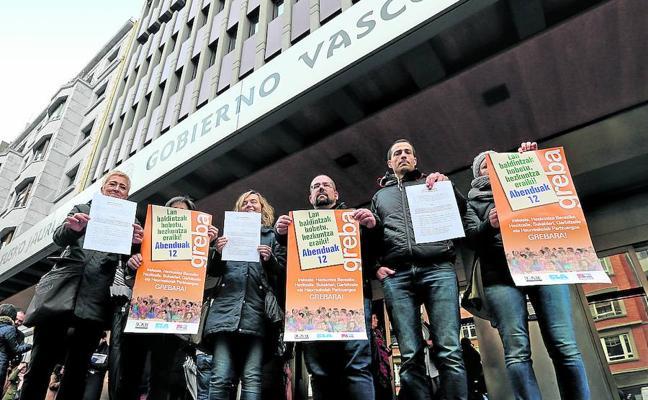 La escuela pública se enfrenta hoy a la huelga de docentes, la cuarta en un mes