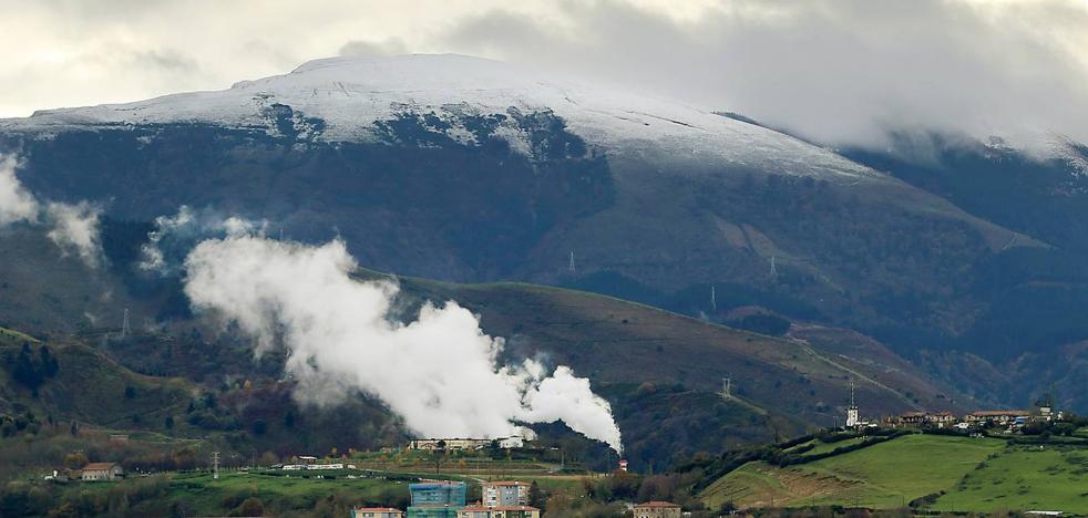 Euskadi espera nieve a 300 metros este viernes