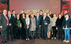 Muga adquiere el grado de dinastía al recibir el Premio a la Empresa Familiar