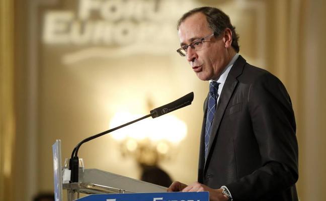 Alonso espera que los pactos con el PNV en Euskadi desbloqueen los Presupuestos de Rajoy