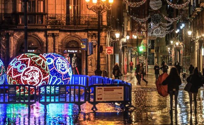 Bilbao se ilumina para Navidades