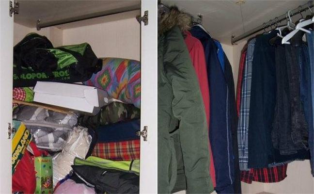 Trucos para tener el armario siempre ordenado