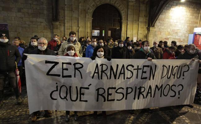 PRIMERA PROTESTA CONTRA LOS MALOS OLORES EN DURANGO