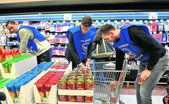 Bizkaia se vuelca hoy en la Gran Recogida de Alimentos