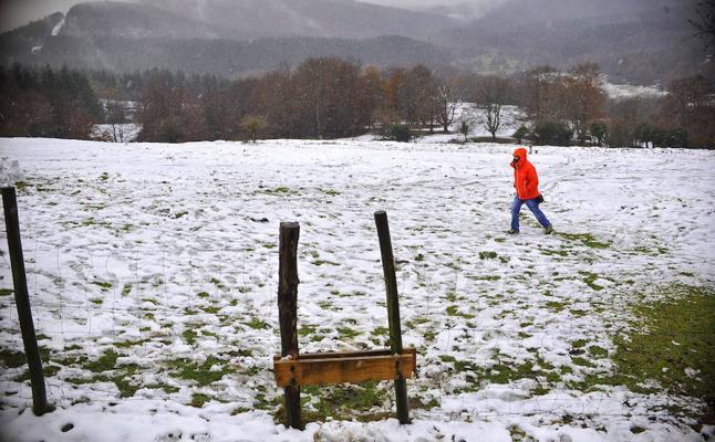 Bizkaia se congela con mínimas de cuatro bajo cero
