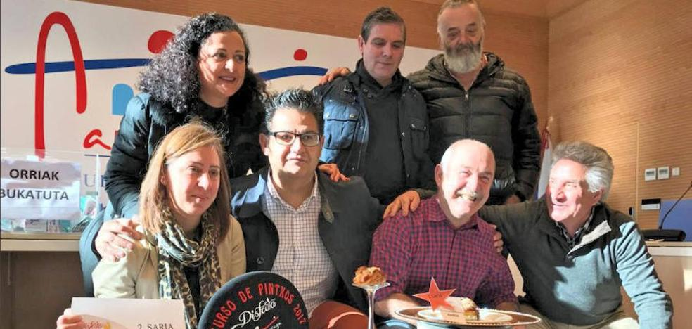 El Mesón Aiensa vuelve a triunfar en el concurso de pintxos de Arrigorriaga
