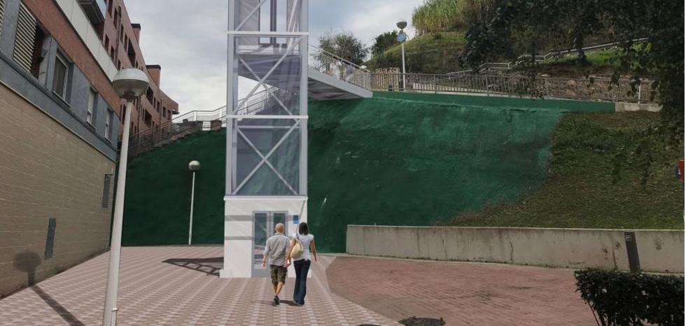 Sin parada nueva en el funicular de Artxanda, pero con tres ascensores