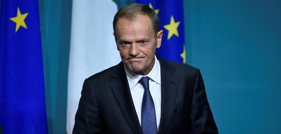 Tusk considera que las negociaciones del 'Brexit' «se acercan» a un acuerdo