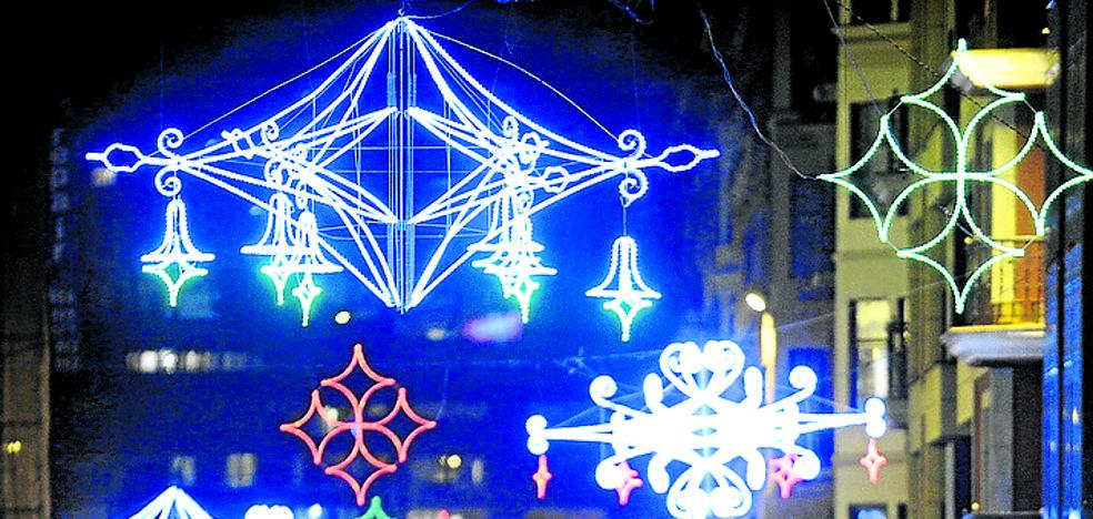 Getxo extiende la decoración navideña y asume por primera vez todo su coste
