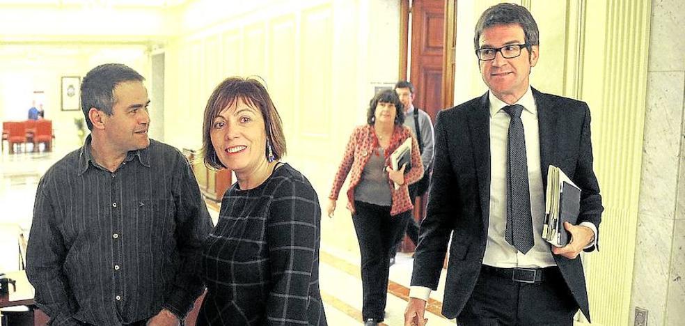 Urtaran se encamina hacia la prórroga tras el portazo de EH Bildu y su rechazo al PP