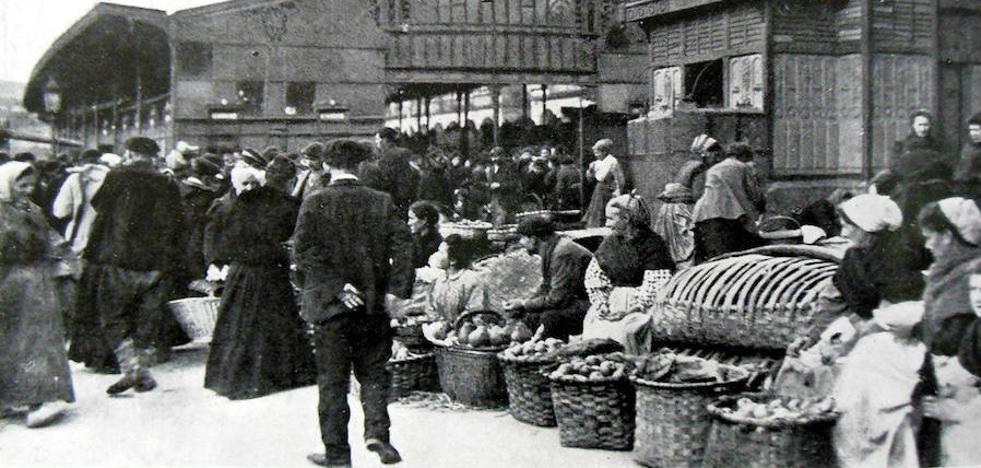 Las verduleras envidiosas y otras historias del Bilbao de hace un siglo