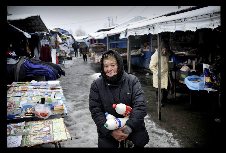 Paseo entre el frío por Ivankiv, la capital de Chernóbil