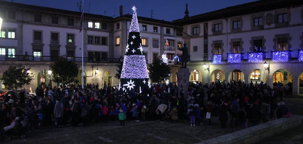 Gernika enciende su Navidad