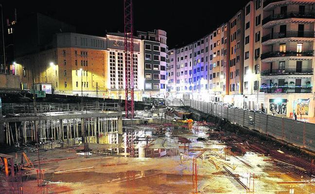 El Ayuntamiento de Eibar rescinde el contrato con Dragados para la obra de Errebal