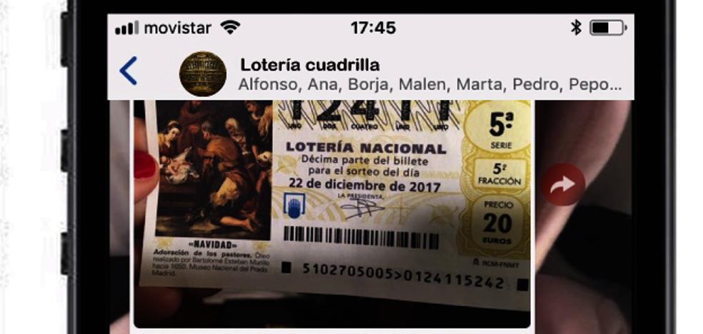 Décimos de lotería compartidos, ¿cómo asegurarte de que vas a cobrar?