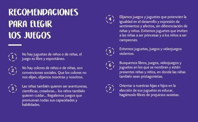 Arrigorriaga edita una guía de juguetes y cuentos no sexistas