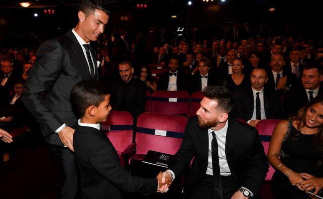El piropo del hijo de CR7 a «su ídolo» Messi