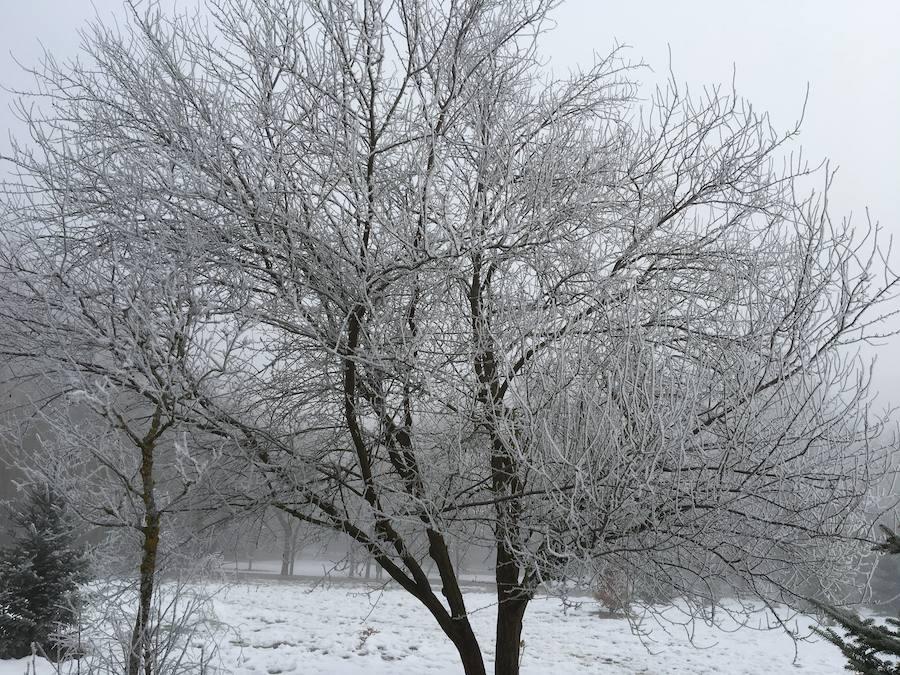El hielo se apodera de Olárizu
