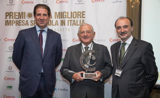 Markina se gana el paladar de los italianos