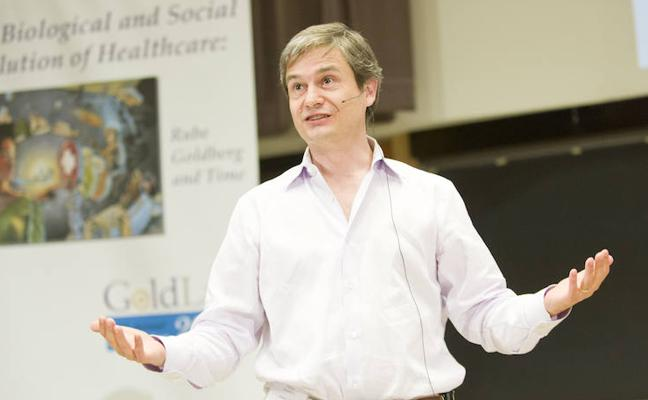Stephen Ansolabehere, Harvard-eko irakaslea: «Euskara iragana, maite dudan kultura eta lagunekiko lotura da»