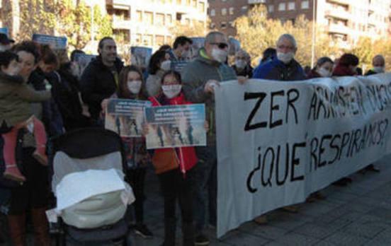 EH Bildu insiste en que la calidad del aire es «preocupante» en Durango